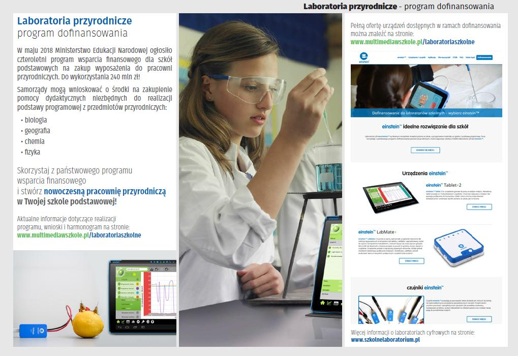 laboratoria program rządowy